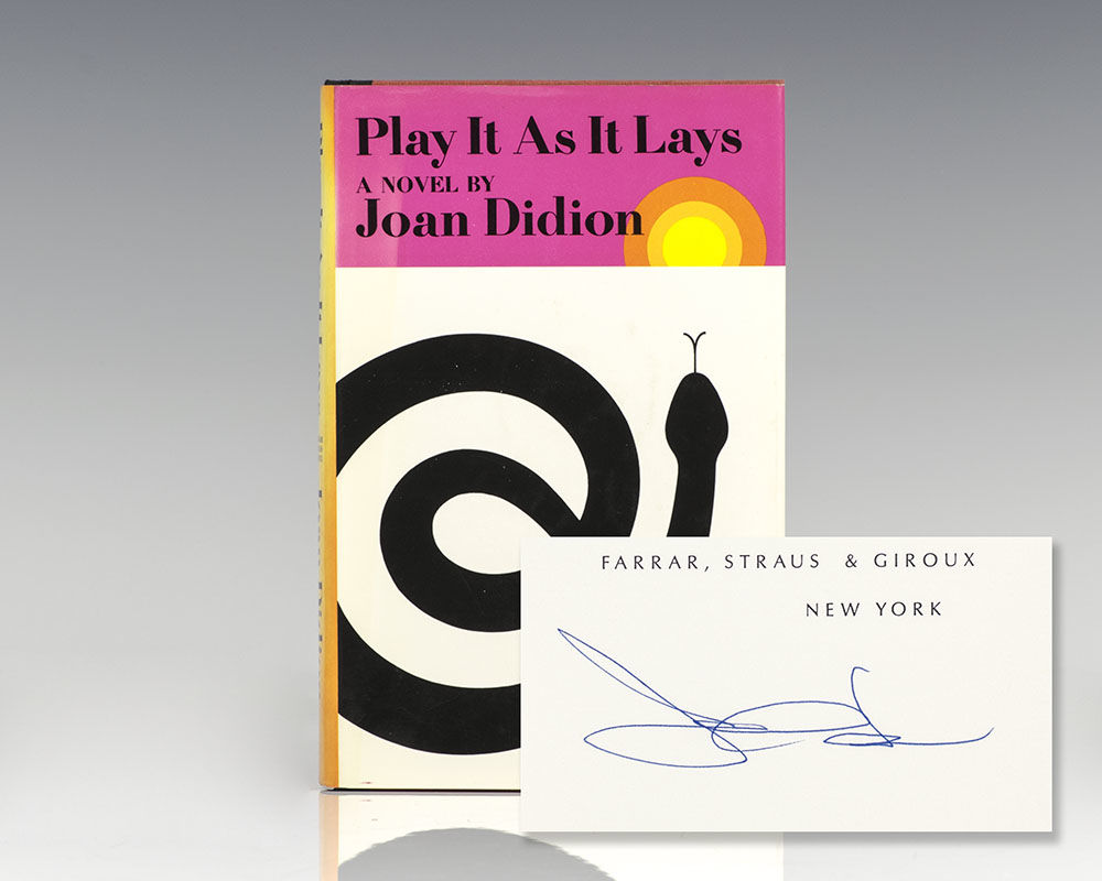 Play It As It lays, Joan Didion