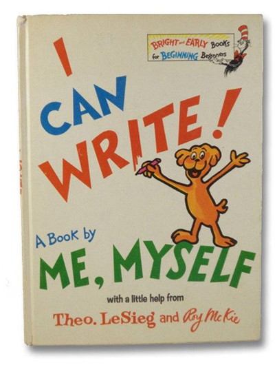 Dr. Seuss, I Can Write