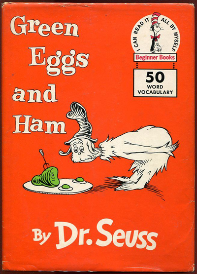 Dr. Seuss, Green Eggs & Ham