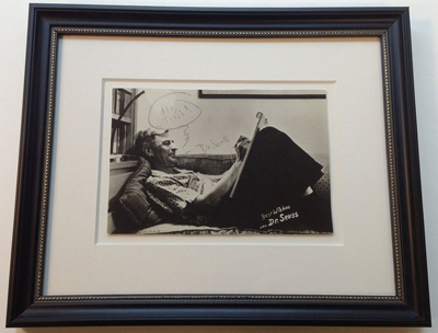 Dr. Seus, Signed Photograph
