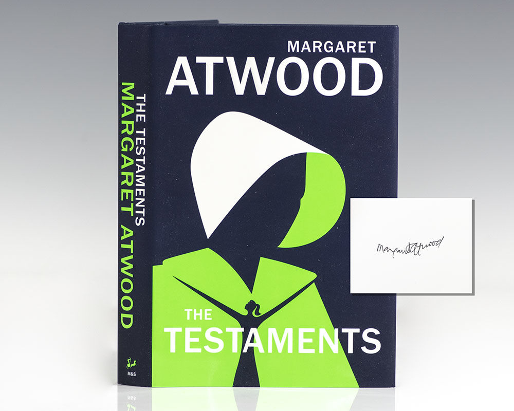 Testaments, Atwood, Signed