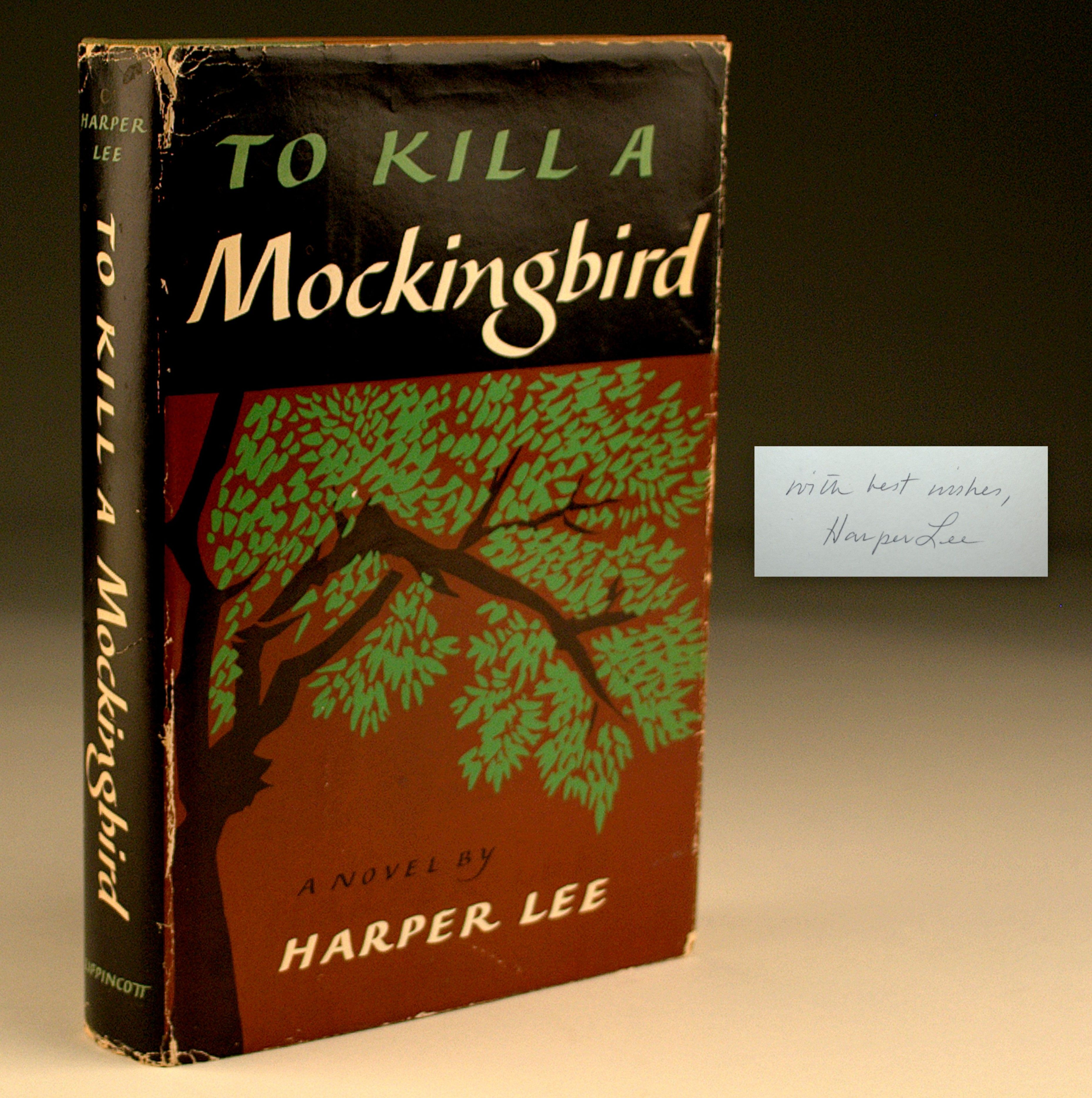 Harper Lee, To Kill a Mockingbird (Signed, First Edition)