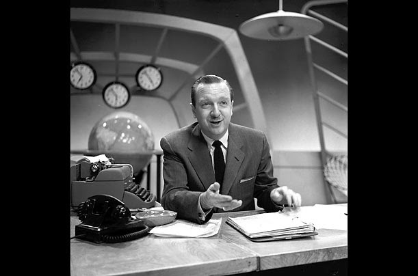 Walter Cronkite, the most trusted voice