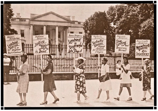 White House Anti-Lynching Protest