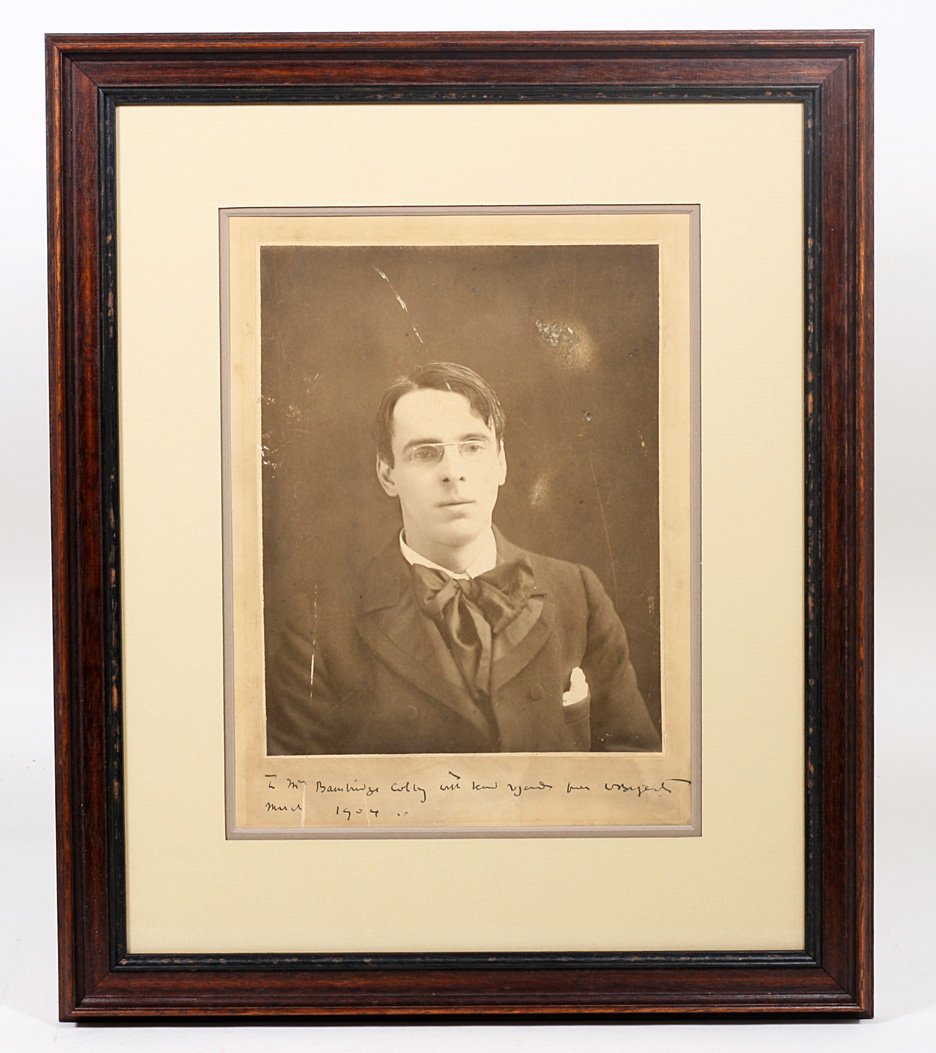 Yeats, Signed Photograph